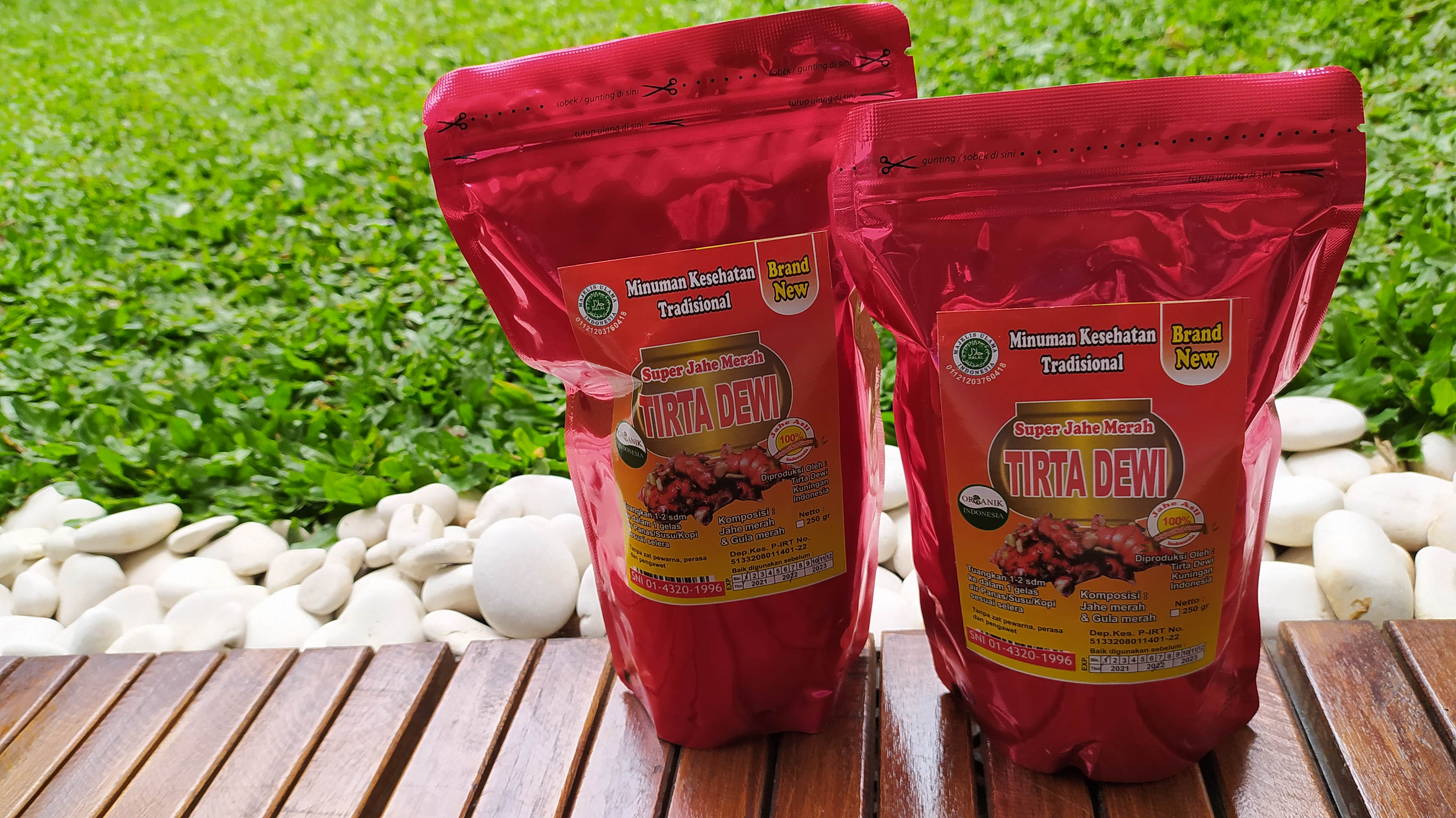 First in Indonesia, Super Red Ginger Tirta Dewi Kuningan Achieved SNI